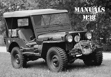 Jeep, Willy's, m38, manuales, maintenance, instrucciones de reparación,