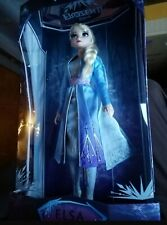 """DISNEY STORE ELSA FROZEN II 2 LIMITED EDITION DOLL 17"""" NEW WITH SHIPPER"""