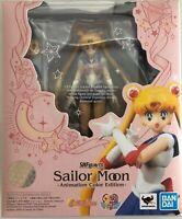 S.H. Figuarts Pretty Guardian Sailor Moon Animation Color Edition Action Figure