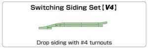 Kato K20-863 N Gauge Unitrack (V4) Passing Loop Track Set