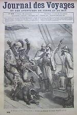 JOURNAL DES VOYAGES N° 232 de 1881 AFRIQUE NIGER  VOYAGE NOUVEAU CALEBAR  RUSSIE