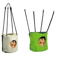 Rustling Cave For Hamsters Ø 10 × 9cm - Trixie Hanging Hamster Mice Bed Cage