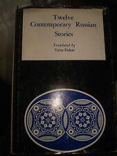 Twelve Contemporary Russian Stories.Dukas, Vytas translator.1977 HARDBACK
