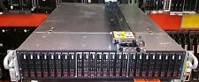 "SuperMicro 2U CSE-216 Barebone Server Chassis, w/ 24x 2.5"" Trays, 2x PSU, RAILS"