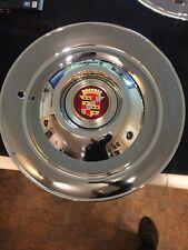 "1947-49 Cadillac Limo & Hearse 16"" sombrero hub cap"