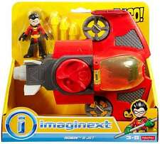 Imaginext TEEN TITANS GO! ROBIN AND JET VEHICLE AND FIGURE SET
