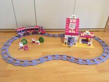 PlayBig Bloxx 57011 Hello Kitty Bahnhof Eisenbahn Gebraucht