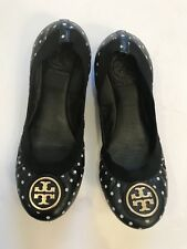fb919b34337 TORY BURCH Women s Shoes Ballet Flats Wedges Polka Dot Leather Sole 6 M  Luxury