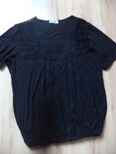 schwarzes Shirt von Ulla Popken Gr 46/48