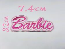 Quality Iron/Sew on Barbie patch Ken dream house mattel doll clothes