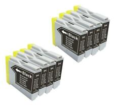 8 NON-OEM BLACK INK CARTRIDGE BROTHER LC-51 LC-51BK MFC-465CN MFC-885CW	MFC-230C