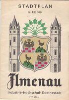 Stadtplan Ilmenau Industrie-Hochschul-Goethestadt, Maßstab 1:10.000