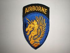 US ARMY WWII 13TH AIRBORNE DIVISION PATCH (REPRODUCTION)