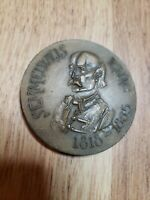 Vintage Ignác Semmelweis Bronze Medal Coin physician scientist Hungary dr doctor