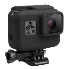 For Gopro Hero 5 Black Side Frame Soft Silicone Protective Housing Case Cover