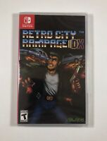 Retro City Rampage DX (Nintendo Switch) Please Read- missing vblank from spine
