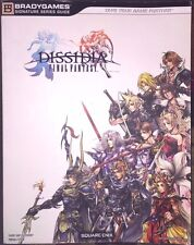 FINAL FANTASY DISSIDIA BRADYGAMES OFFICIAL STRATEGY GAME GUIDE + POSTER