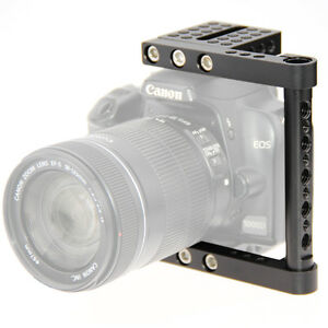 CAMVATE DSLR Camera Baseblate Cage Video Support kit for Canon Sony Aluminum
