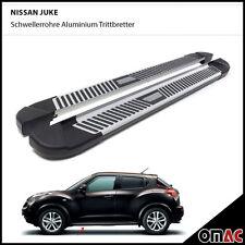 Schwellerrohre Aluminium Trittbretter für Nissan Juke ab 2010 Pyramid (173)