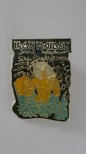 Iron Maiden live after death Vintage metal music pin pin's