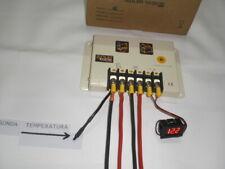 Regulador de carga para placa solar 30A 12v/24v