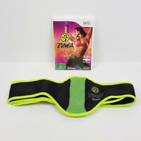 ZUMBA Fitness Wii (Nintendo Wii) PAL Video Game - Complete w/ Belt