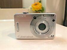 Sony Cyber-shot DSC-W50 6.0MP Digital Camera Silver - Unit Only!
