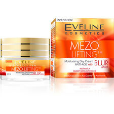 EVELINE COSMETICS MEZO LIFTING MOISTURISING DAY CREAM ANTI-AGE WITH BLUR EFFECT