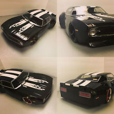 Custom 1/10 Scale Remote Control On-road Drift Car RC CAMARO GLOSS BLK
