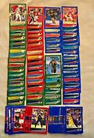 124 Card Lot - 2020 Donruss Red, Blue & Green Press Proof Rookies & Commons