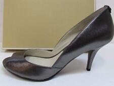 Michael Kors Size 10 Metallic Gray Heels New Womens Shoes