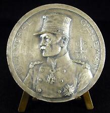 Médaille Général belge Georges Leman Belgique bataille de Liège Fort de Loncin
