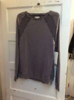 $59.50 Mens calvin klein jeans gray sweat shirt size large F40