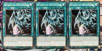 3x Rückkehr der Drachenherren SDRR-DE030 COMMON PLAYSET 1.Auf DEUTSCH Yu-Gi-Oh