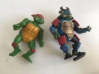 Vintage Playmates Toys Teenage Mutant Ninja Turtles Action Figures 1988 1990 Lot