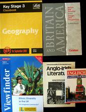ENGLISCH Sammlung 5 gehobene Lehrbücher,Lehrerhandbuch,Geographie,Viewfinder pp