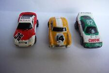 "Micro Machines SNAP BACKS#3 ""FULL SET"" Lot of 3 from 1990"