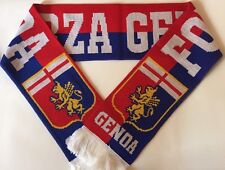 FORZA GENOA Football Scarve NEW from Superior Acrylic Yarns