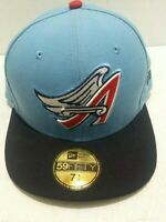 "New Era 59Fifty Anaheim Angels ""Cooperstown"" 1997 Fitted Hat (Baby Blue) MLB Cap"