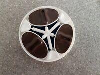 "Nutella Deckelinhalt 70 er J. ""Peanuts Stempel-3 stück+Stempelbox unbenutzt-rar°"