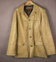 PME LEGEND Herren Pall Mall Leder Jacke Blazer Mantel Größe 2XL (XXL) ASZ1257