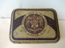 Antique Advertising Tin Steel Spinning Travellers Nowrosjee Wadia & Sons Old *F