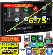 11-13 Grand Cherokee / Durango Wireless Apple Carplay Android Auto Navigation