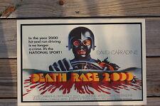 Death Race 2000 Lobby Card Poster David Carradine