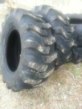 TWO New 17.5Lx24 R4 Tubeless 6 Ply Titan Kubota,  John Deere Farm Tractor Tires