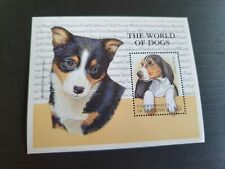 DOMINICA M/S   THE WORLD OF DOGS MNH