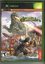 GODZILLA SAVE THE EARTH ORIGINAL XBOX GAME