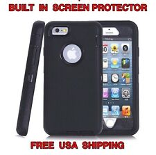 HYBRID CASE DROP PROTECTION TPU + PC for Iphone 6 6S USA SELLER
