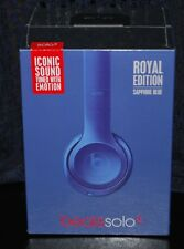 BEATS SOLO 2 ROYAL EDITION - SAPPHIRE BLUE - BY DR. DRE - NIB!