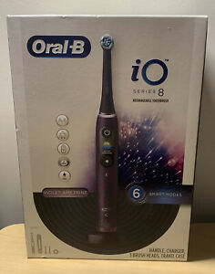 Oral-B - iO Series 8 Connected Rechargeable Electric Toothbrush - Violet NEW